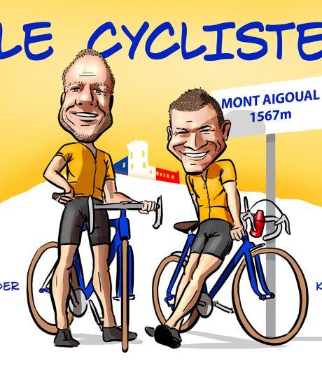 'Mijn man viel van zijn racefiets en overleed op Tourberg Mont Aigoual'
