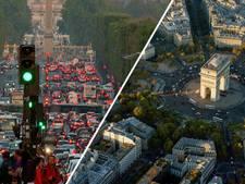 Maximumsnelheid Parijs naar 30 kilometer per uur