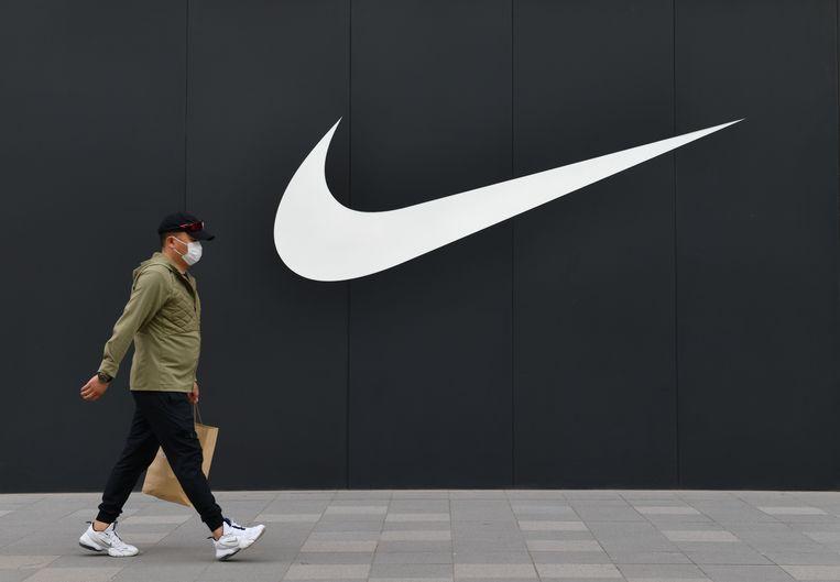 De Nike-flagshipstore in Beijing, China. Beeld Getty