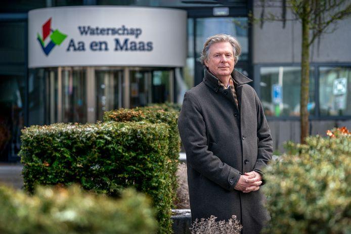 Lambert Verheijen neemt afscheid als dijkgraaf van waterschap Aa en Maas.