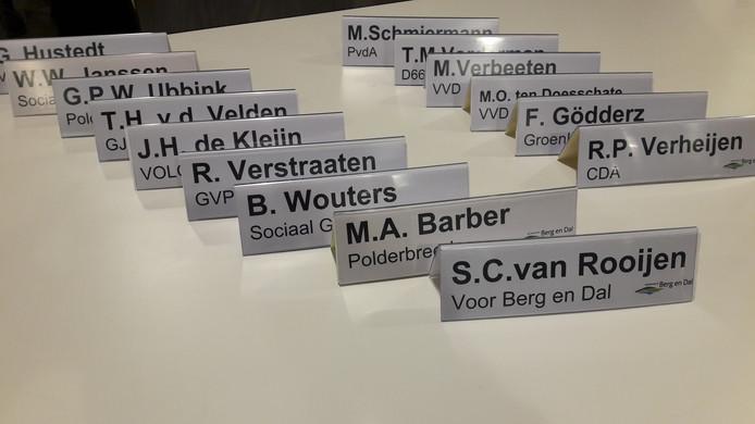 De Berg en Dalse gemeenteraad kent elf partijen: een vergadering lijkt wel eens een Poolse landdag.