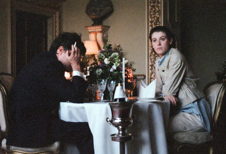 The Souvenir, met Tom Burke en Honor Swinton Byrne als de geliefden Anthony en Julie. Beeld