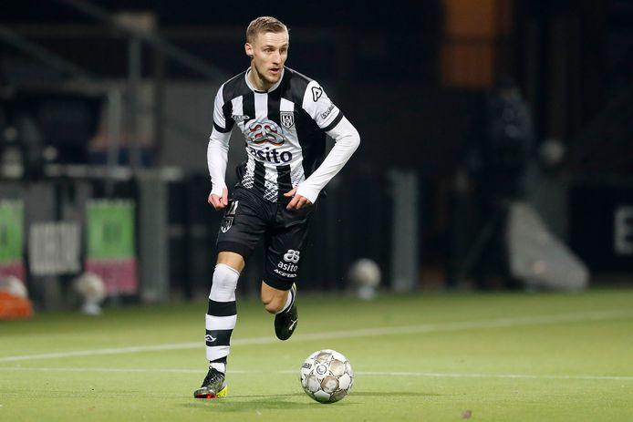 Silvester van der Water in zijn tijd als speler van Heracles Almelo.