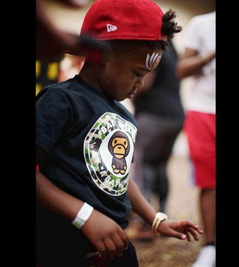 Future's zoon met zijn Rolex Beeld Instagram