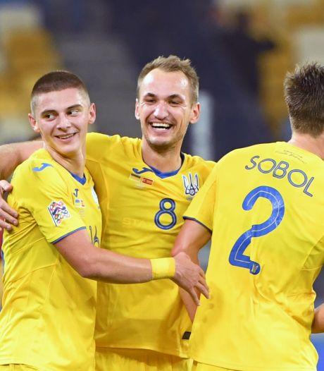 Oekraïne stunt tegen Spanje, Duitsland en Zwitserland gelijk in spektakelstuk