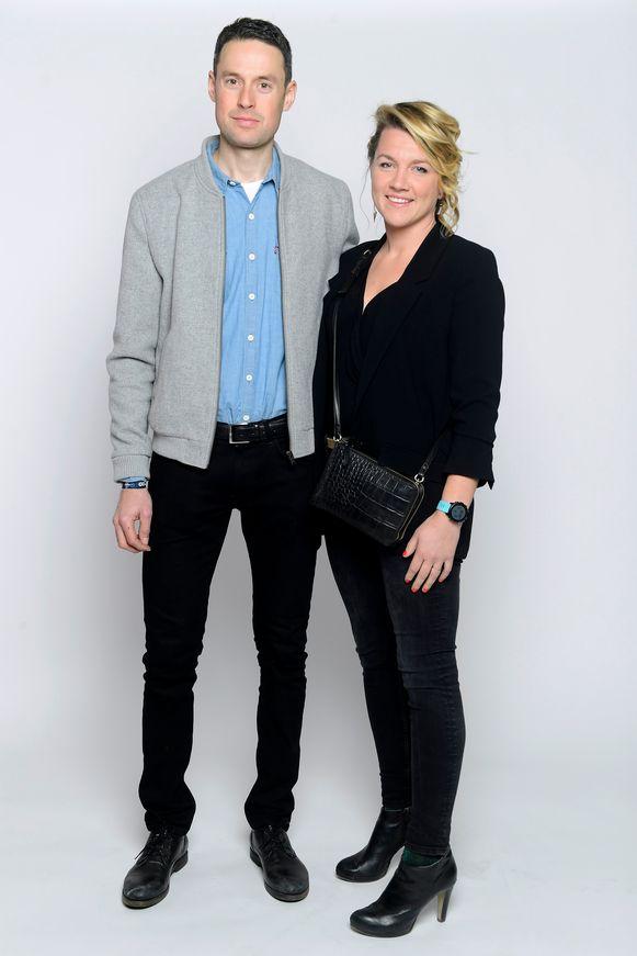 Sander Armee en vriendin Julie Blockx