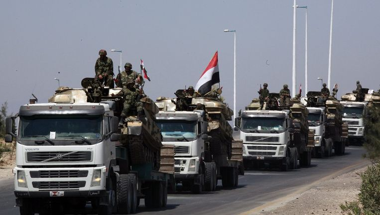 Syrische soldaten Beeld epa