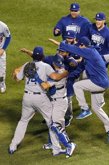 LA Dodgers met verpletterende zege naar World Series