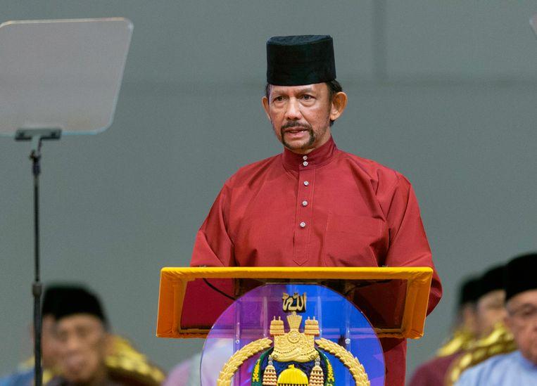 Sultan Hassanal Bolkiah van Brunei.