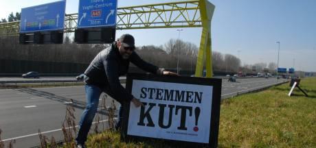 Lijsttrekker Ralph Posset doet ludieke oproep aan Bosschenaren: 'Stemmen KUT'
