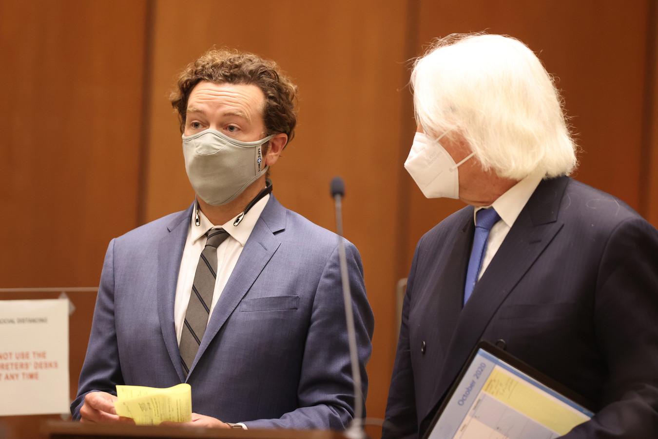 Danny Masterson vrijdag in een rechtbank in Los Angeles.