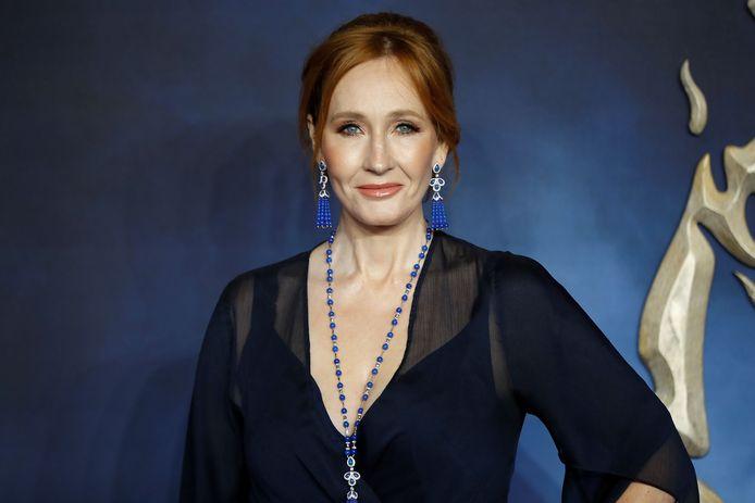 J.K. Rowling op archiefbeeld.