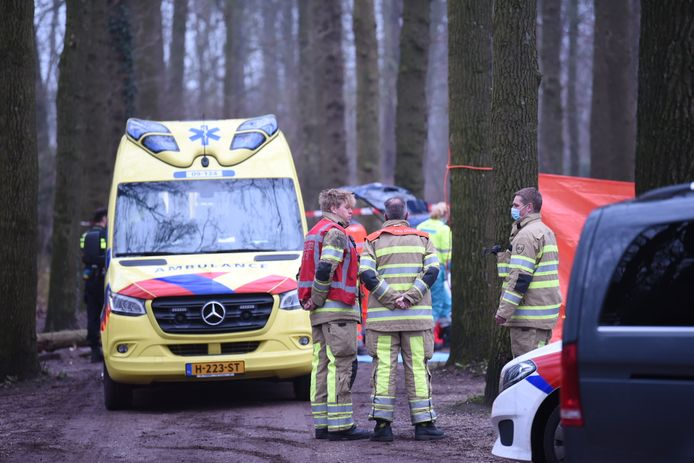Hulpdiensten waren ter plaatse.