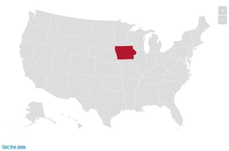 Iowa. Beeld De Morgen