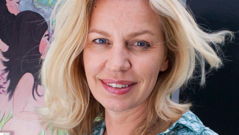 Annejet van der Zijl is 'verguld' met de belangstelling Beeld Maaike Engels Urbi et Orbi