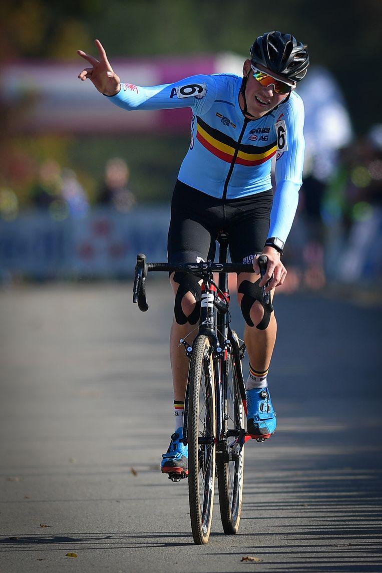 Kielich kreeg het lastig in de voorlaatste ronde, klampte aan en zou uiteindelijk vrede moeten nemen met brons Beeld BELGA
