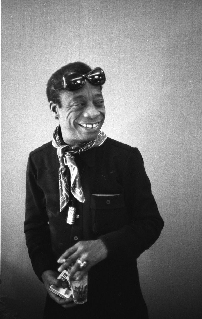 James Baldwin in 1972. Beeld Sophie Bassouls/Getty