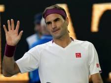 Federer de retour sur terre battue après 2 ans d'absence