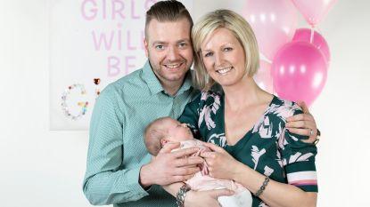 """De baby van Nick en Veerle is één maand oud: """"Als alles zo goed blijft lopen, gaan we volgend jaar voor een tweede"""""""