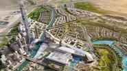 Nieuw extravagant project in Dubai: grootste woontoren en langste indoor skipiste ter wereld