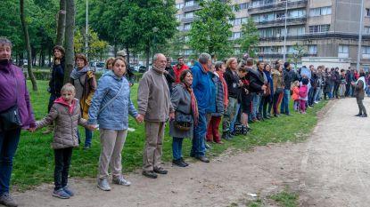 1.000 man tegen arrestatie asielzoekers