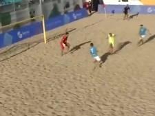 Les plus beaux buts de l'Euro Winners de beach soccer (et il y a du Belge)
