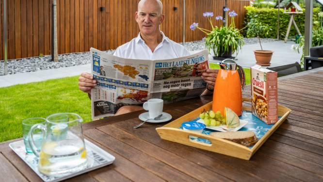 """Ontbijten met HLN-lezer Benjamin Cammerman (57): """"Ik heb leren content zijn met wat ik heb"""""""