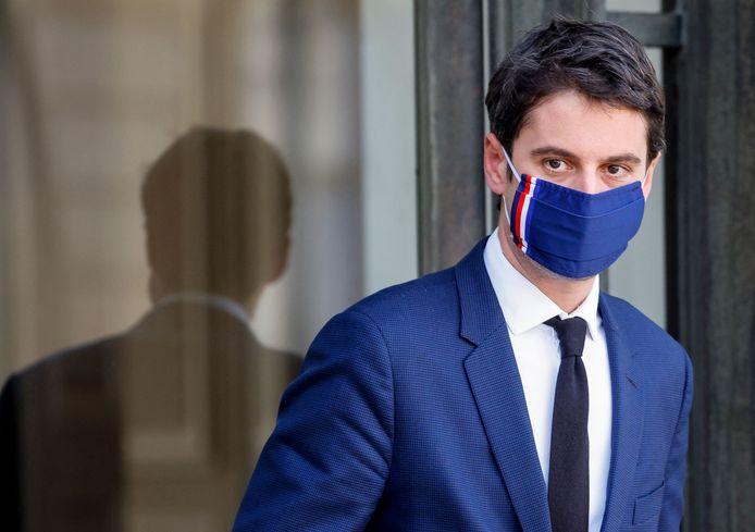 Le porte-parole du gouvernement français Gabriel Attal
