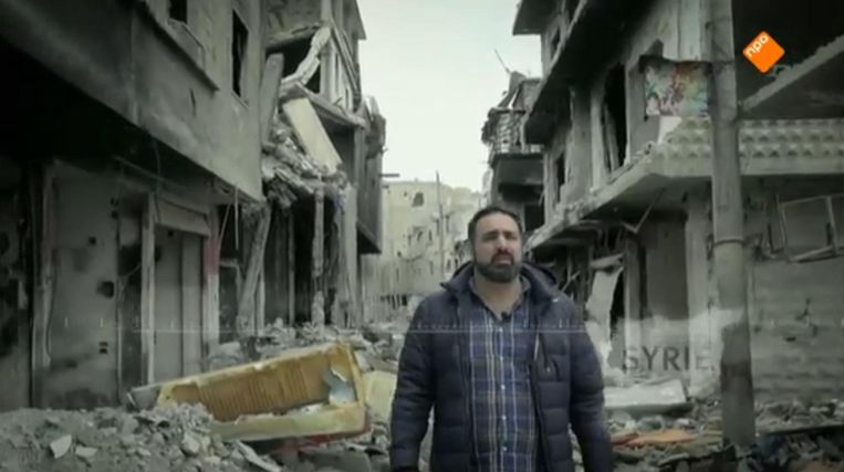 Sinan Can in een eerdere aflevering van De Arabische storm. Beeld