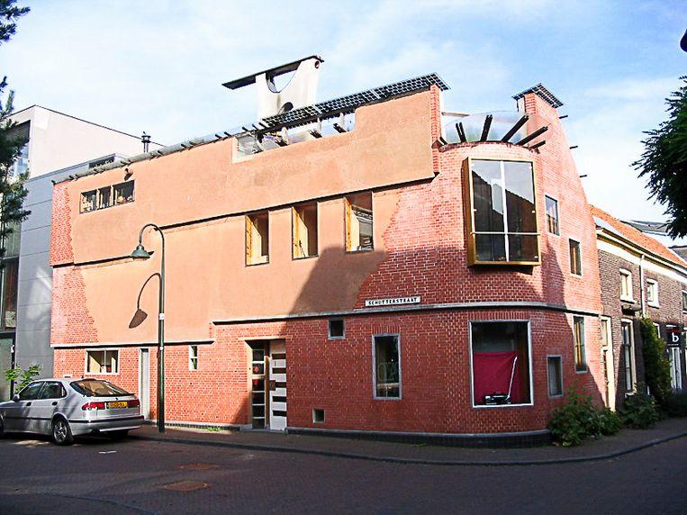 Zijn eigen huis in Delft was zijn levenswerk Beeld Frank Stofberg