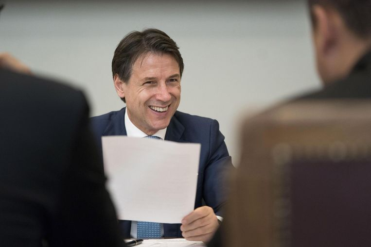 Giuseppe Conte (PD) zou de nieuwe Italiaanse premier worden.
