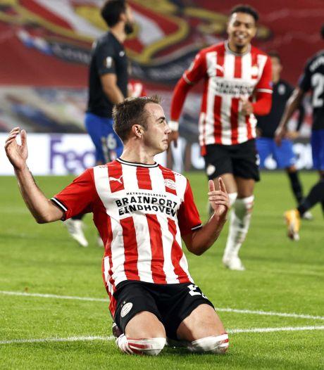 PSV hoopt dat Götze snel weer 'buitencategorie-impulsen' kan geven