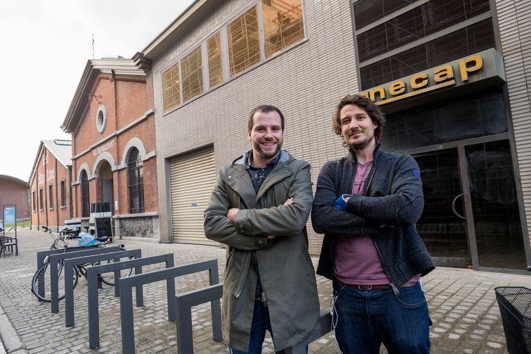 Yves Massignani (links) en Thomas Van Praag zijn de mannen achter Contrair. Beeld Klaas De Scheirder