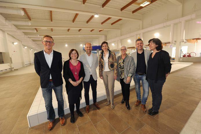 Gemeentebestuur en Sportoase NV slaan de handen in elkaar met deze privaat-publieke samenwerking.