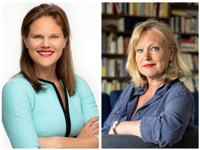 Hester Duursema en Chantal Zeegers.