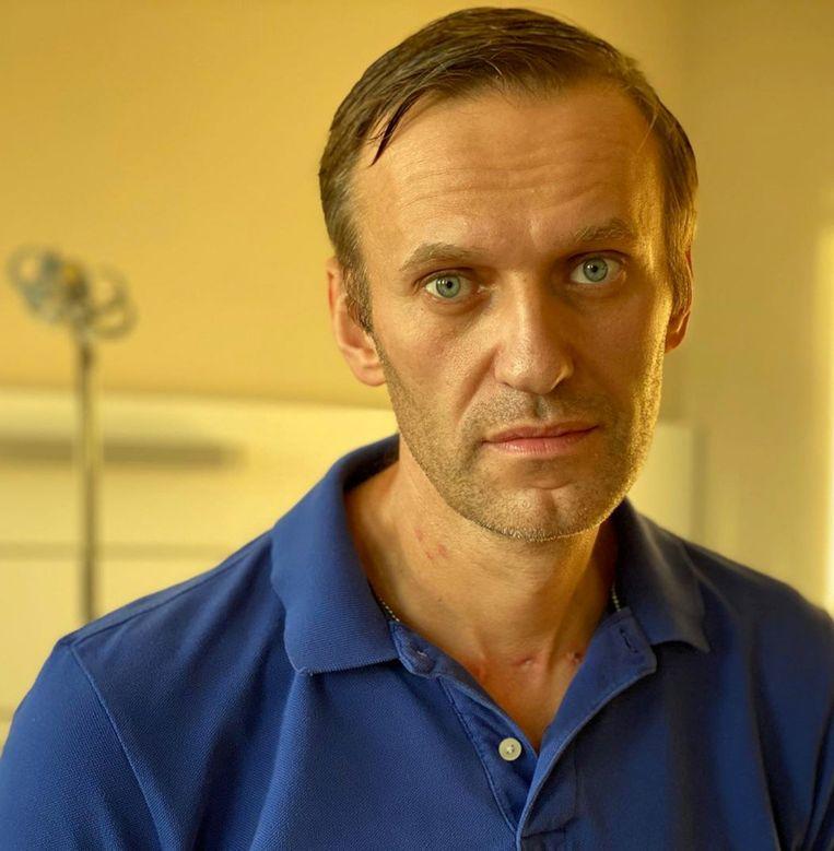 De Russische corruptiebestrijder Aleksej Navalny. Beeld NAVALNY via REUTERS