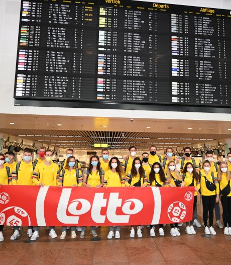 34 athlètes du Team Belgium, dont Nina Derwael et les frères Borlée, se sont envolés pour Tokyo