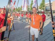 Zilveren Corné de Koning bij huldiging in Goes: 'Die medaille geeft zo veel energie!'