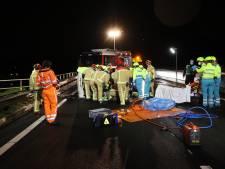 Ongeluk op A58 bij Oirschot: auto slaat meerdere malen over de kop