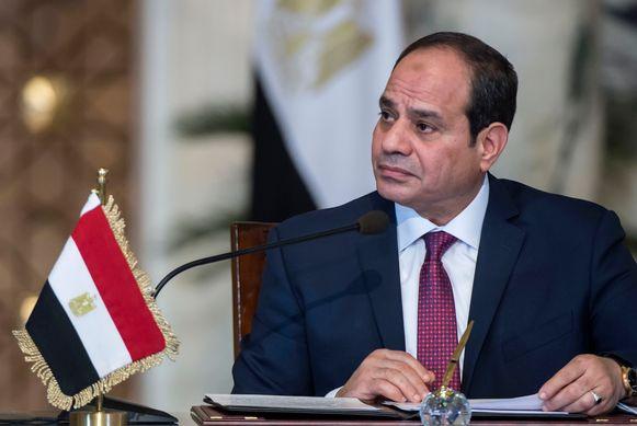 De zittende president Abdel Fattah al-Sisi doet naar verwachting een gooi naar een tweede ambtstermijn.