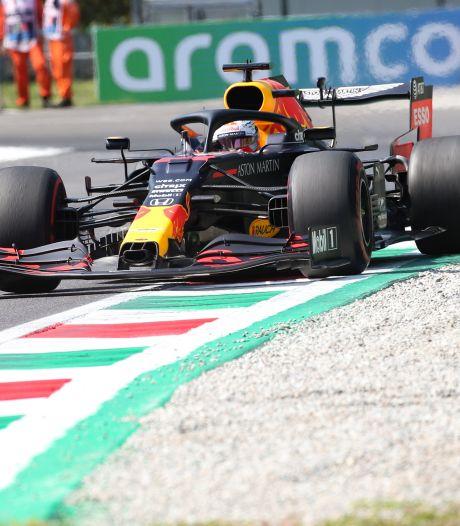 Verstappen ook 's middags vijfde op Monza: 'Geen ideale start'