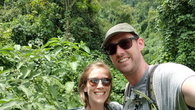 """Frederik (32) en Constance (31) laten alles achter en bestuderen komende twee jaar gorilla's in Congo: """"We wilden meer tijd doorbrengen in de natuur en minder achter een bureau"""""""