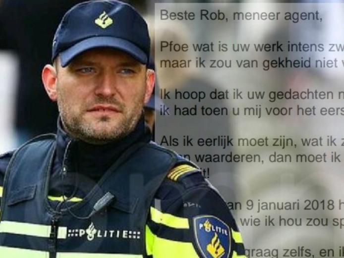 Rob van den Berg, hoofdagent bij politie Zwolle.