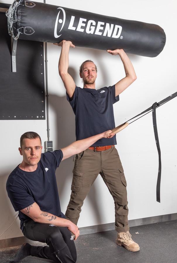 Hylko Smit (28) en Timo Appeldorn (21).