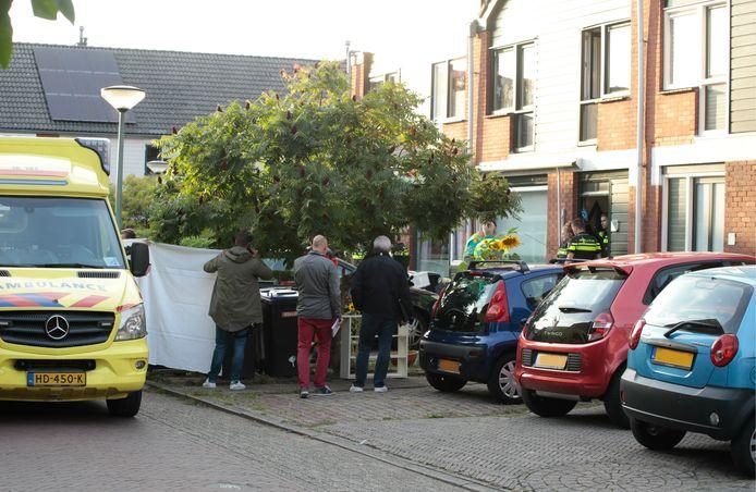 De woning aan de Heimerstein waar het drama is gebeurd