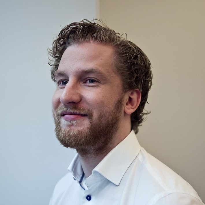 Thomas van der Meer, lijsttrekker bij D66 Land van Cuijk