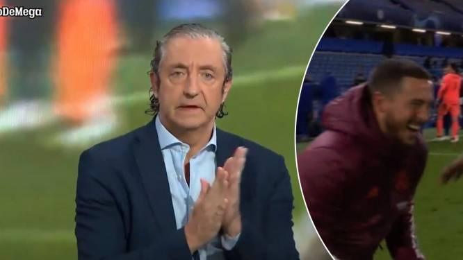 """Spaans tv-gezicht doet er nog dikke schep bij met dramatische monoloog: """"Hazard mag geen seconde langer bij Real blijven. Weg ermee!"""""""