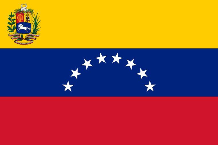 De vlag van Venezuela.