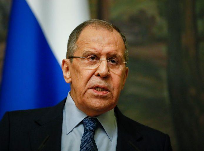 Minister Sergej Lavrov.