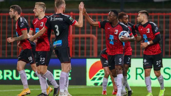 """Trainer Euvrard (RWDM) ontgoocheld over resultaat tegen Waasland-Beveren (1-3): """"Wel heel hoopgevende prestatie van mijn jongens"""""""